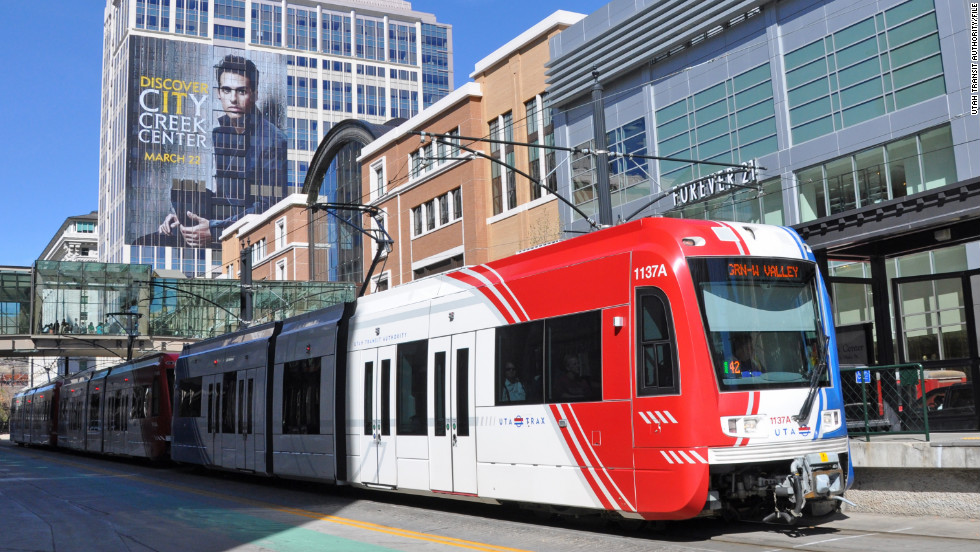 Ridership on Utah Transit Authority streetcars increased 6.44% during the third-quarter of 2014.