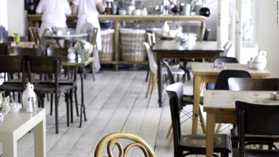 """It's the best <a href=""""http://www.travelandleisure.com/restaurants/mangerie"""" target=""""_blank"""">breakfast on the Bosporus</a>: a lavish spread of eggs, sheep's-milk cheeses, olives, cucumbers, tomatoes, warm sourdough bread, local honey, and chai, on a rooftop terrace with postcard-worthy views. <a href=""""http://www.mangeriebebek.com"""" target=""""_blank"""">mangeriebebek.com</a>. $$"""