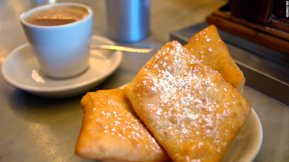 """The airy beignets (made from a 143-year-old recipe) and café au lait at this 24-hour, wood-paneled Metairie haunt leave the better-known Café du Monde in their sugar dust. <a href=""""http://morningcallcoffeestand.com"""" target=""""_blank"""">morningcallcoffeestand.com</a>. $"""
