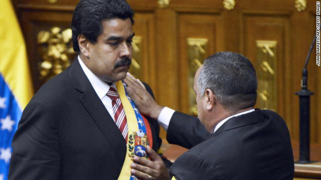 Venezuelan interim president sworn in