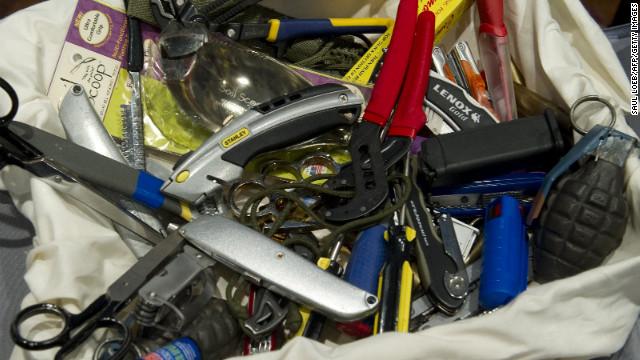 TSA drops plan to allow small knives