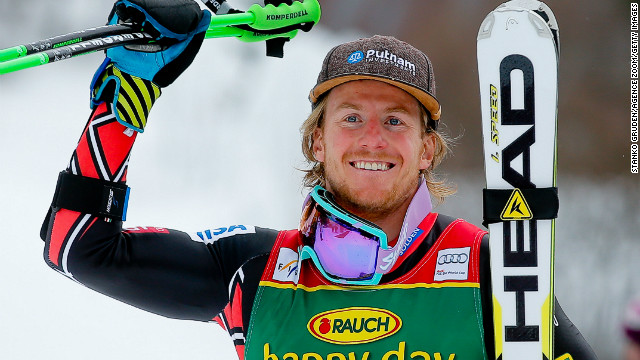 America's Ted Ligety clinched a fourth World Cup giant slalom title with a fifth career victory at Kranjska Gora.