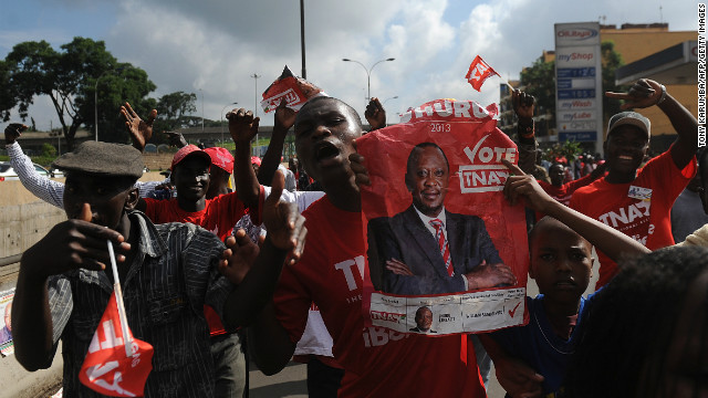Kenyatta wins Kenyan presidential vote