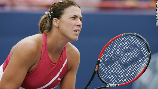 Jennifer Capriati, shown in 2004, her last year in competitive tennis.
