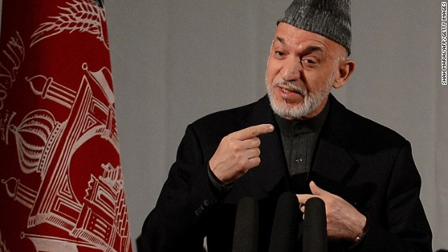 Afghan President Hamid Karzai contends the Taliban prefers that foreign troops remain in the country.