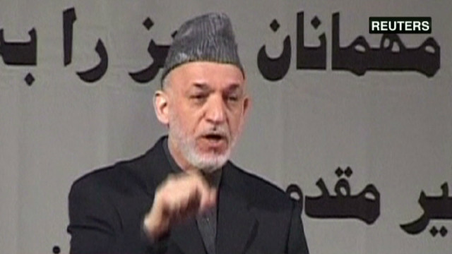 Karzai: Taliban want U.S. to stay