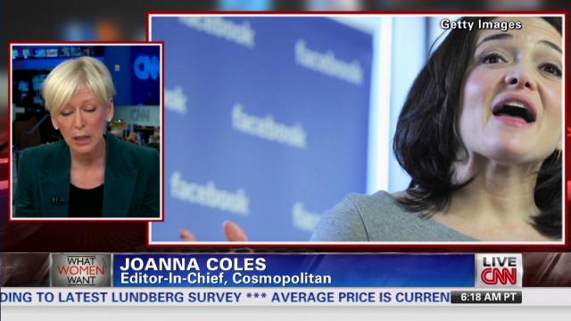 Cosmopolitan editor defends Sandberg
