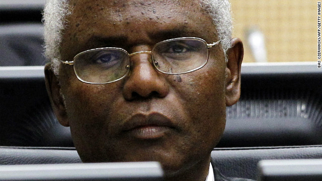 Cabinet Secretary Francis Muthaura appears at the International Criminal Court in The Hague on April 8, 2011.
