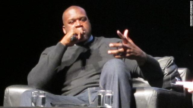 Shaquille O'Neal offered his thoughts Monday on tech and social media at South by Southwest Interactive.