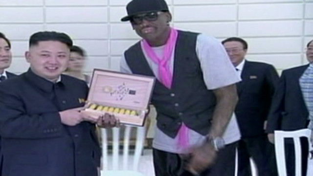 Rodman on Kim Jong Un: 'He's my friend'