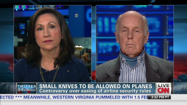 Small knives to be allowed on planes