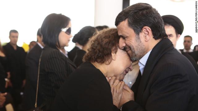 Blacklash over Iran's pres. warm embrace