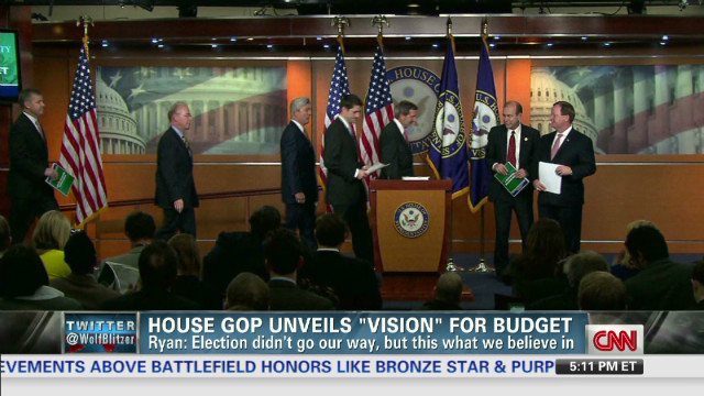 Here we go again: Ryan unveils budget