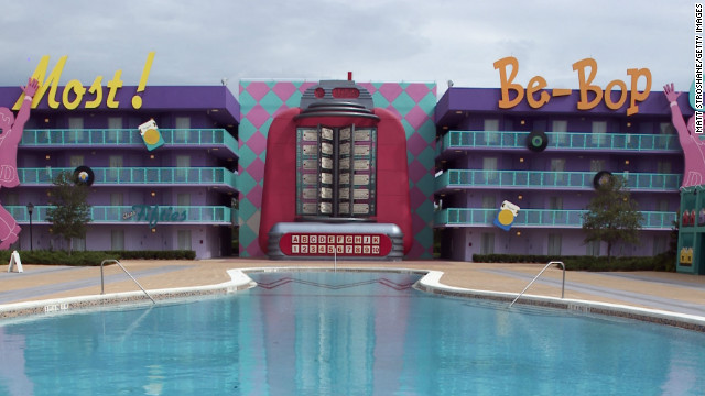 Disney's Pop Century resort opened in late 2003.