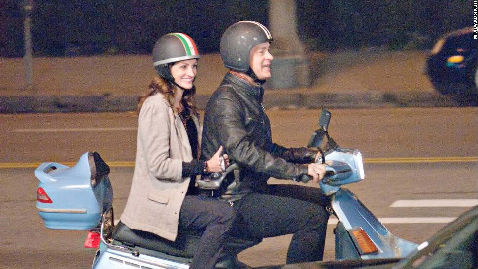 """Larry Crowne,"" which hits theaters in 2011, is the second film for Tom Hanks and Julia Roberts. The pair first appeared together on the big screen in 2007's ""Charlie Wilson's War."""