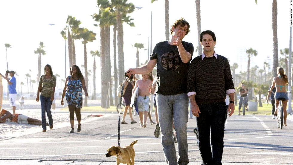 """Jason Segel, left, and Paul Rudd have appeared together in a slew of Judd Apatow flicks, such as 2007's """"Knocked Up,"""" 2008's """"Forgetting Sarah Marshall,"""" 2009's """"I Love You, Man"""" and 2012's """"This Is 40."""" Next up for the co-stars is """"This Is the End."""""""