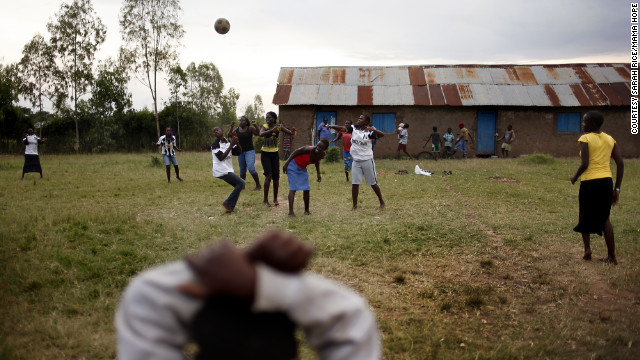 Women in Kenya say they're better at netball than men.
