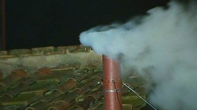 White smoke signals election of new pope