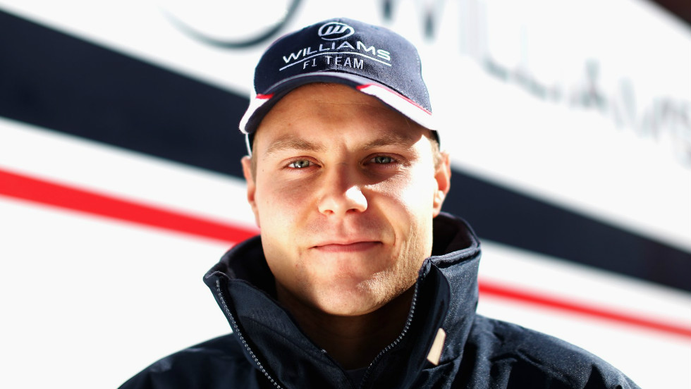 Five rookies will be on the grid at the Australian Grand Prix, including Valtteri Bottas (pictured) who will be behind the wheel for Williams. Caterham drafted in Giedo van der Garde, while Esteban Gutierrez makes his debut for Sauber and Marussia boast an all-rookie line up of Jules Bianchi and Max Chilton.