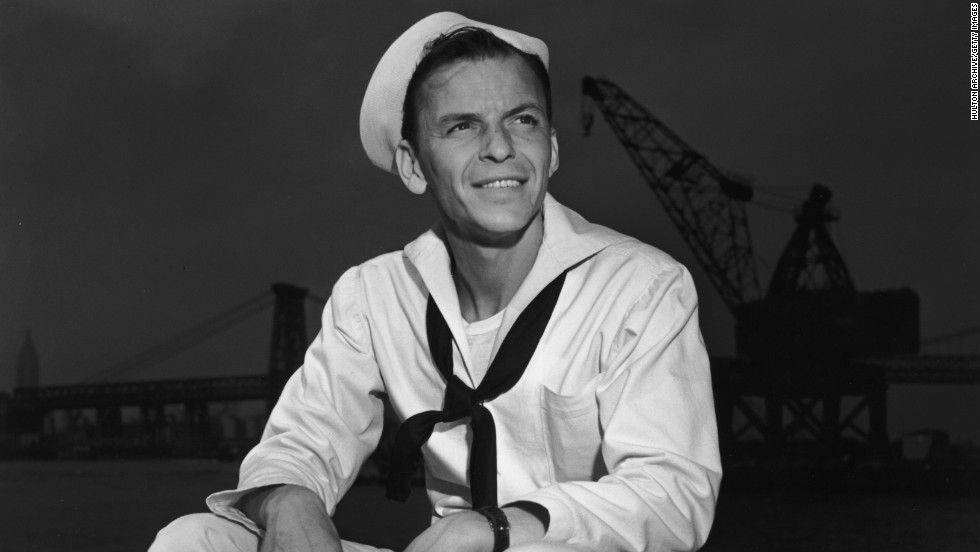 """Francis Albert """"Frank"""" Sinatra -- """"Ol' Blue Eyes"""" was one of the most important singers in the history of popular music, and also a fine actor."""