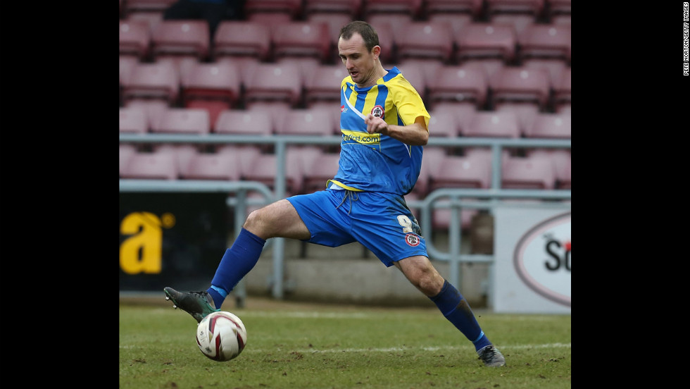 Francis Jeffers -- The English football player formerly played for Everton and Arsenal. He's now with Accrington Stanley.