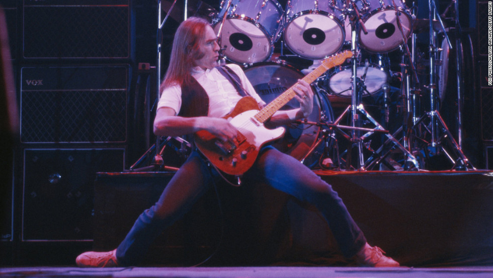 """Francis Rossi -- The British singer of Status Quo only had one hit in America -- """"Pictures of Matchstick Men"""" -- but the group has had a long and successful career in Britain."""
