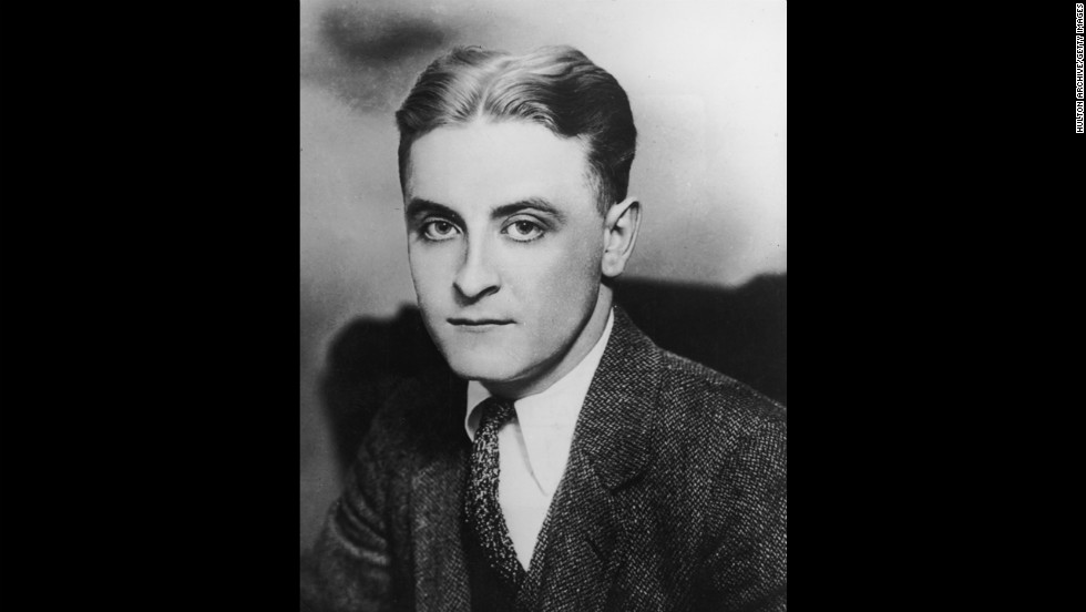 """Francis """"F."""" Scott Fitzgerald -- One of the leading literary lights of the Jazz Age wrote classics such as """"The Great Gatsby"""" and """"This Side of Paradise."""""""