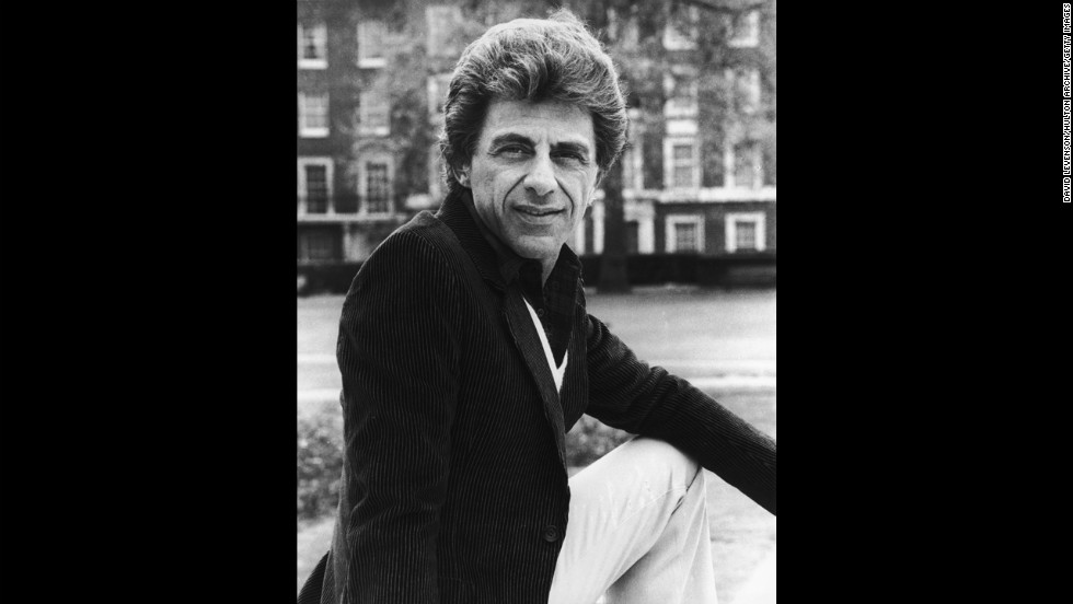"""Francis """"Frankie Valli"""" Castelluccio -- Leader of the Four Seasons, an American vocal group that scored five No. 1 singles."""