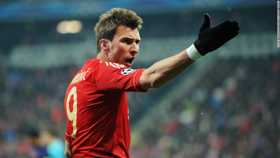 Bayern, which is 20 points clear at the top of the Bundesliga, had not suffered a defeat since October 28 in any competition. Its frustration was clear to see with striker Mario Mandzukic aggrieved with his side's showing.