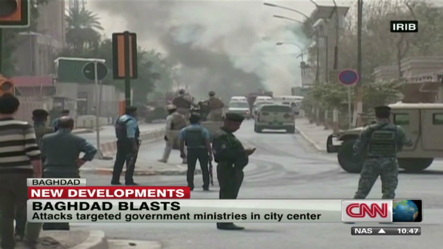 At least 18 dead after Baghdad bombings