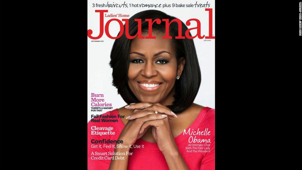 Obama on the cover of Ladies' Home Journal.