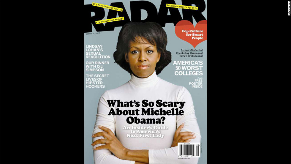 Obama on the cover of Radar.