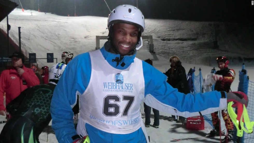 Michael Williams is striving to take part in the 2014 Winter Olympics for Jamaica. The 42-year-old has until January 2014 to achieve the required points to get in.