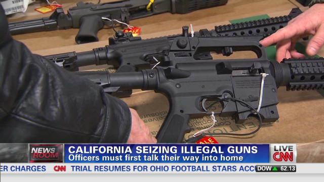 Americans losing their guns.
