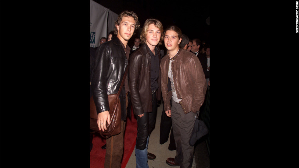 "Hanson, pictured here in Los Angeles in 2001, released their fifth album, ""This Time Around,"" in May 2000."