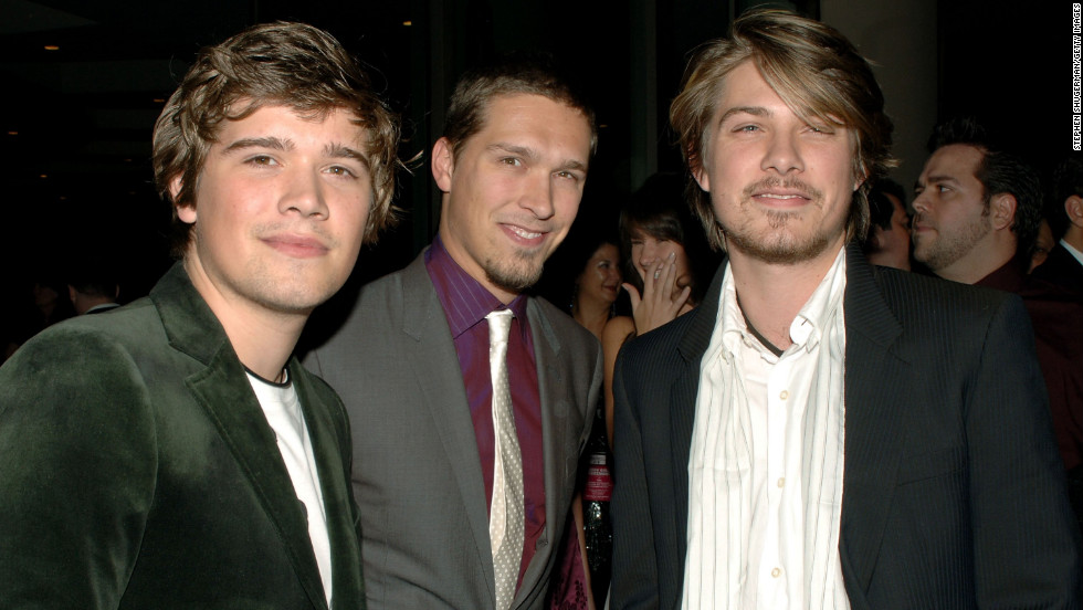 Hanson arrives at the 2006 Hollywood Film Festival.
