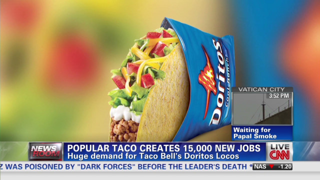 Taco Bell's new taco creates 15,000 jobs