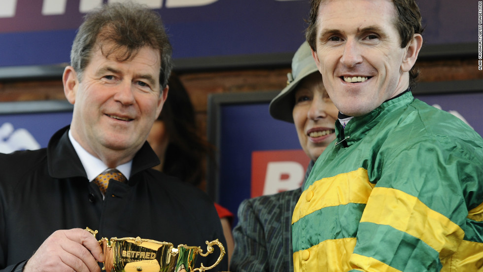 "Enter Irish billionaire businessman JP McManus (left). The property mogul and horse owner and breeder from Limerick is a renowned big better. ""A lot of his prize money goes back into the industry -- he keeps so many stables in employment across Ireland and Britain,"" says Betfair spokesman Barry Orr."
