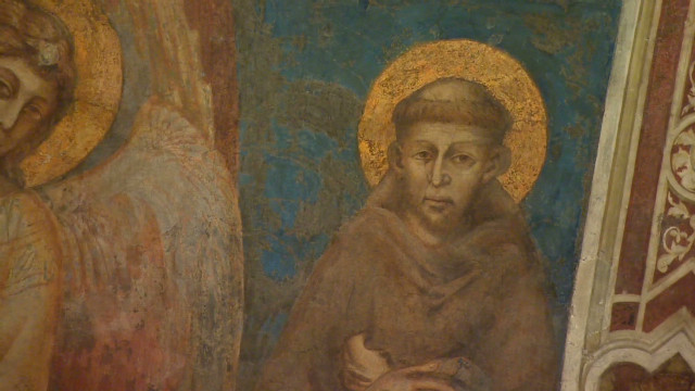Where St. Francis lived the simple life