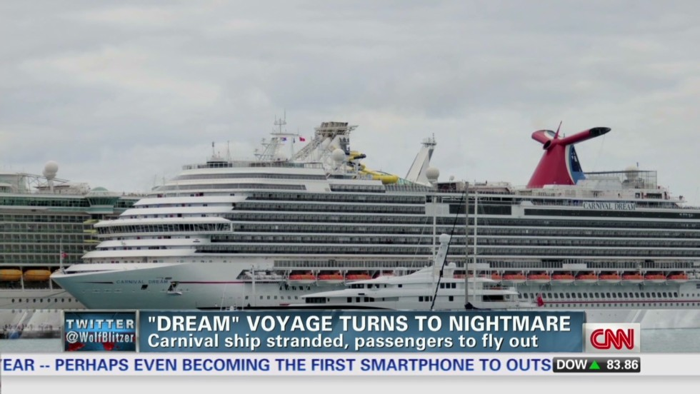Carnival Dream Cruise Director Carnival Dream Cruise Ends in