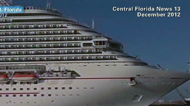 Carnival 'Legend' faces trouble at sea