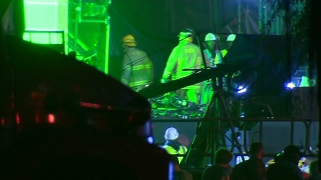 Stage collapses at Ultra Music Festival