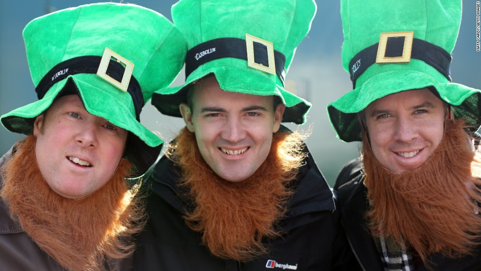 """Although St. Patrick's Day is deeply rooted in Christian faith, the secular world has adopted the celebration, much like St. Nicholas as """"Santa"""" or St. Valentine on Valentine's Day. The secular celebration of St. Patrick's day often includes <a href=""""http://www.leprechaunmuseum.ie/irish-folklore-mythology/"""" target=""""_blank"""">leprechaun</a> imagery. Leprechauns are a part of Ireland's pagan roots, which included belief in many gods and supernatural beings such as fairies. Disney's 1959 film """"Darby O'Gill and the Little People"""" was such a hit in the U.S. that it has <a href=""""http://irishamerica.com/2011/07/imagining-ireland-with-gabriel-byrne/"""" target=""""_blank"""">strengthened the association of leprechauns with Ireland</a>."""