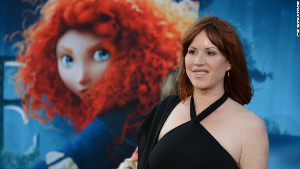 """Brave's"" Merida and Molly Ringwald"