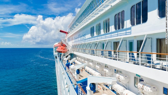Photographer Jebb Graff had a great time on a seven-day cruise on the Carnival Fantasy last year.