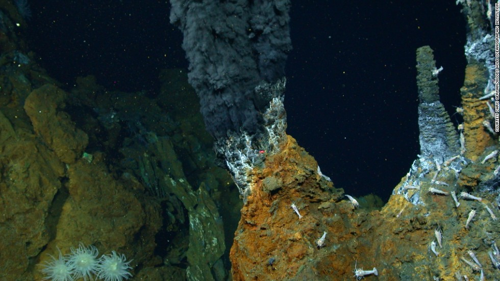 The development of new technology is crucial to our understanding of this vastly unexplored realm. Researchers use Remotely Operated Vehicles (ROVs) to examine hydrothermal vents up to 5km below the surface.