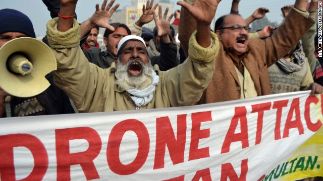 Drone strikes in Pakistan have proved massively unpopular, and stoked anti-U.S. anger around the world.