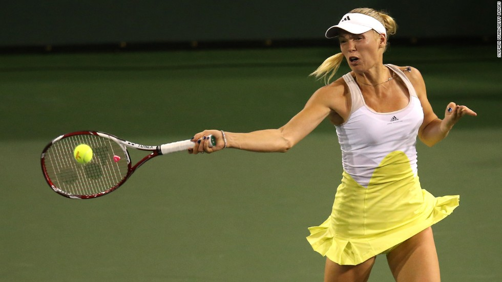 Wozniacki, the 2011 champion, reached her third final in four years at the hard-court tournament after coming from behind to beat Angelique Kerber of Germany in three sets.
