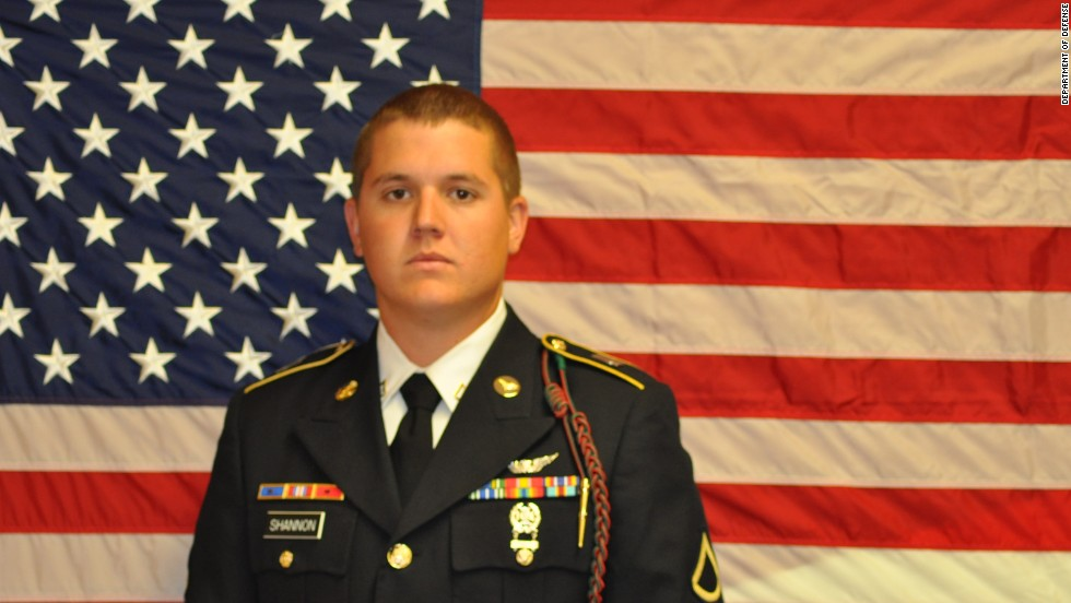 Spc. Zachary L. Shannon, 21, of Dunedin, Florida.