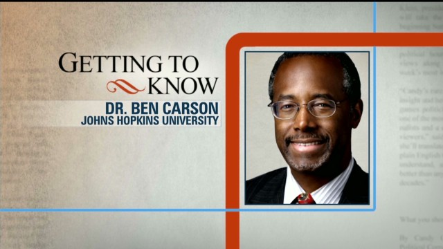 Getting to Know: Dr. Ben Carson